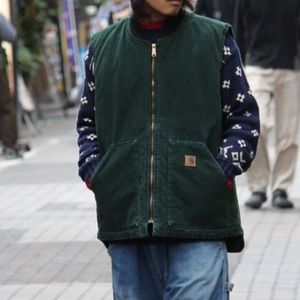 Carhartt Vest super distressed Streetwear Large